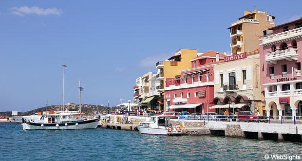 Agios Nikolaos hamn