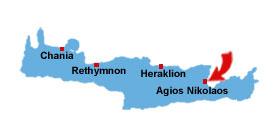 Agios Nikolaos karta
