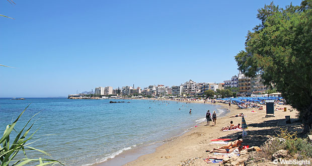 Chania Stad Strand Och Gamla Stadsdelen Kreta Reseguide