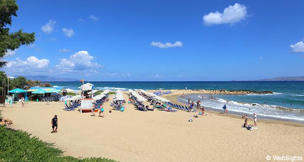 Kokkini Hani strand