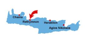 Rethymnon karta
