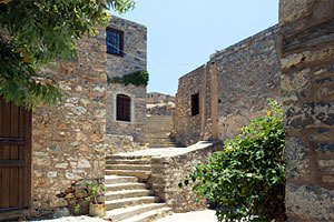 Spinalonga ruin
